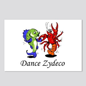 Dance Zydeco Postcards (Package of 8)