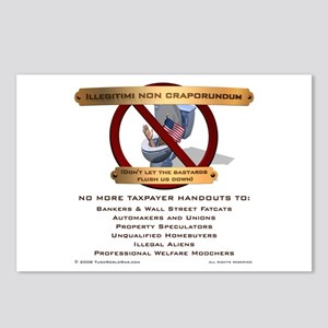 Illegitimi non craporundum Postcards (Package of 8