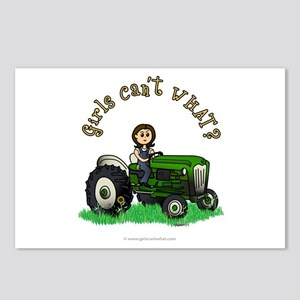 Light Green Farmer Postcards (Package of 8)