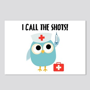Owl Nurse Postcards (Package of 8)