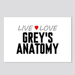 Live Love Grey's Anatomy Postcards (Package of 8)