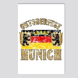 OKTOBERFEST Munich Distressed Postcards (Package o