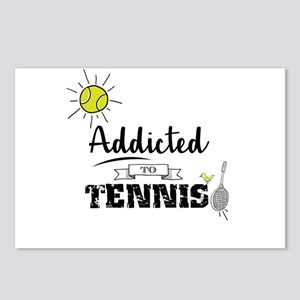 Addicted To Tennis Postcards (Package of 8)