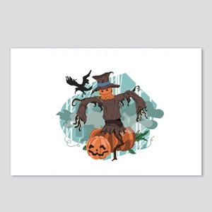Fall Scarecrow Outstandin Postcards (Package of 8)