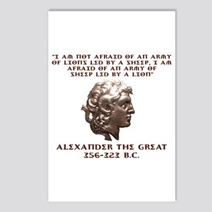 Alexander the Great Postcards (Package of 8)