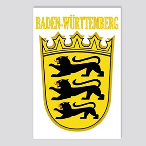 Baden-wurttemberg COA Postcards (Package of 8)