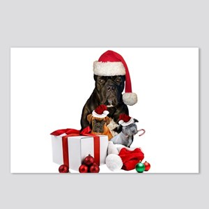 Christmas Cane Corso Postcards (Package of 8)