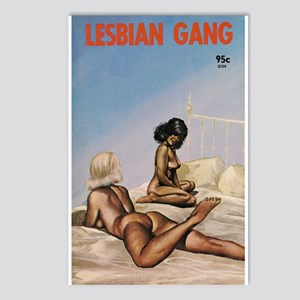 LESBIAN GANG Postcards (Package of 8)