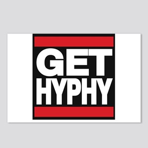 get hyphy lg red Postcards (Package of 8)