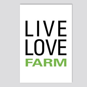 Live Love Farm Postcards (Package of 8)