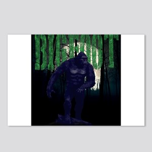 BIGFOOT- out of the darkn Postcards (Package of 8)