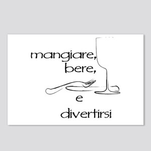 Mangiare... Postcards (Package of 8)