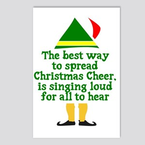 Christmas Cheer Postcards (Package of 8)