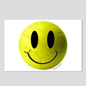 Volleyball Smiley Postcards (Package of 8)