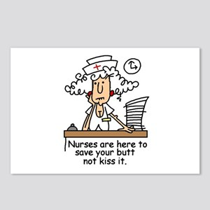 Funny Nurse Six Postcards (Package of 8)