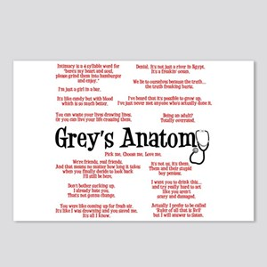 Grey's Anatomy Quotes Postcards (Package of 8)