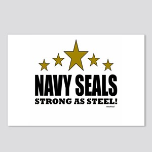 Navy Seals Strong As Stee Postcards (Package of 8)