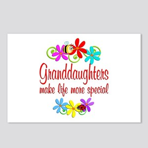 Special Granddaughter Postcards (Package of 8)