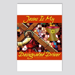 Jesus is my driver Postcards (Package of 8)