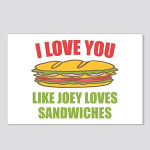 Friends Joey Loves Subs Postcards (Package of 8)