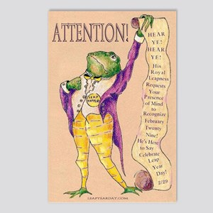 Attention! Postcards (package Of 8)