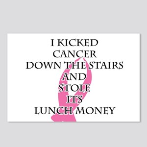 Breast Cancer Bully Postcards (Package of 8)