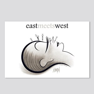 East Meets West Postcards (Package of 8)