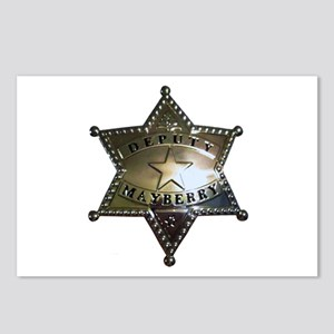 Mayberry Deputy Badge Postcards (Package of 8)