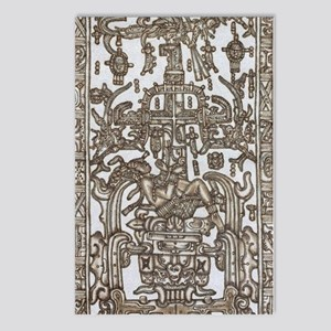 Mayan Ruler Pakal Kim  Postcards (Package of 8)