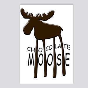 Chocolate Moose Postcards (Package of 8)