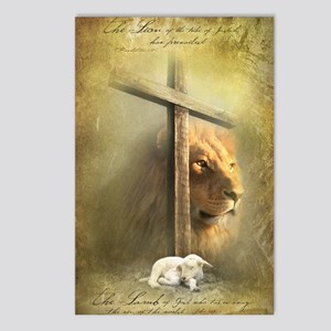 The Lion and the Lamb Postcards (Package of 8)