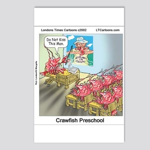 Crawfish 101 Postcards (package Of 8)
