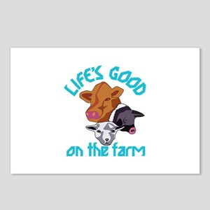 Farming Life is Good Postcards (Package of 8)