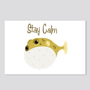 Stay Calm Postcards (Package of 8)