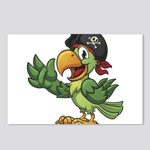 Pirate-Parrot Postcards (Package of 8)