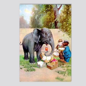 Roosevelt Bears and The Elephant Postcards (Packag