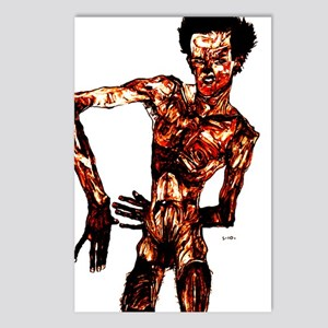 Egon Schiele Self-Portrait Postcards (Package of 8