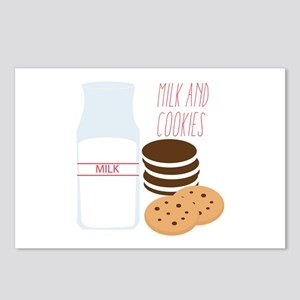 Milk and Cookies Postcards (Package of 8)