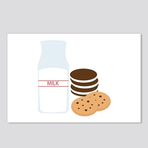 Cookies Milk Postcards (Package of 8)
