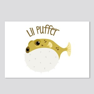 Lil Puffer Postcards (Package of 8)