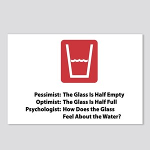 Psychologist Glass Postcards (Package of 8)
