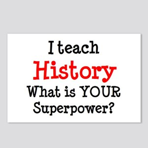 teach history Postcards (Package of 8)