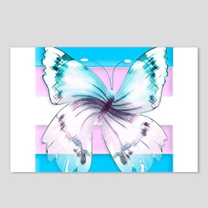 transgender butterfly of transition Postcards (Pac