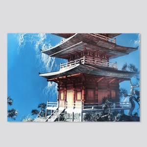 Zen Temple Postcards (Package of 8)