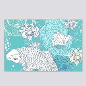 Koi Fish Postcards (Package of 8)