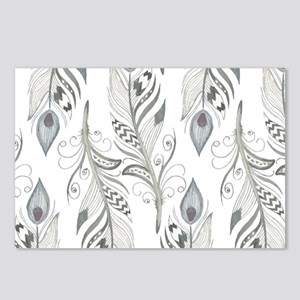 Beautiful Feathers Postcards (Package of 8)