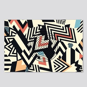 Abstract Pattern Postcards (Package of 8)