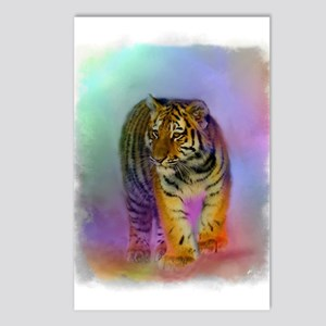 Tiger Cub Portrait Postcards (package Of 8)