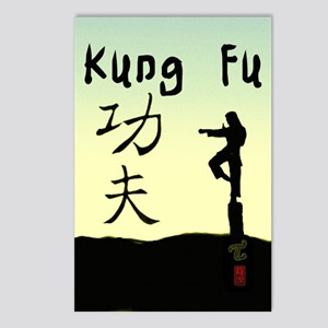 Kung fu 3 Postcards (Package of 8)