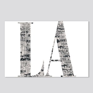 LA - Los Angeles Postcards (Package of 8)